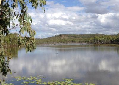 Lake Fred at Gilberton Outback Retreat