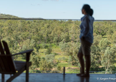Views from Gilberton Outback Retreat